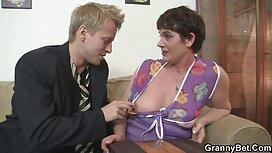 Jeune fille baisée en femme de chambre pour le film x vieux et jeune sexe anal